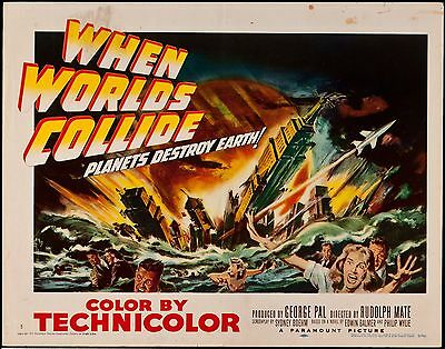 When Worlds Collide 1959 Half Sheet