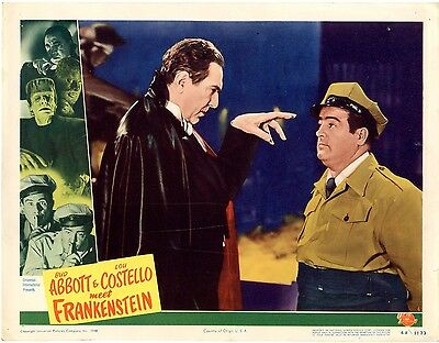 Abbott & Costello Meet Frankenstein 1948, lobby card