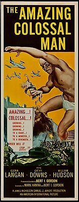 Amazing Colossal Man 1957 Insert