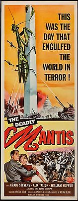 Deadly Mantis 1957 Insert