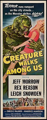 Creature Walks Among Us 1956 Insert