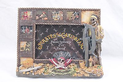 PIRATES OF THE CARIBBEAN 4 X 6 PICTURE FRAME - Walt Disney World