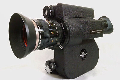 CANON Scoopic 16 M 16mm Film Camera, Case Filters Manual & Zoom Frank Sinatra Jr