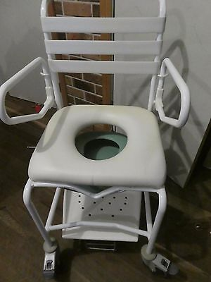 COMMODE/SHOWER CHAIR MOBILE -  Personal Assist Mobility Equipment-RRP $1089