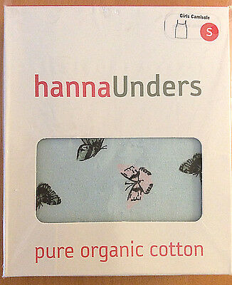 HANNA ANDERSSON Unders~NWT~Girl's Printed Camisole~S (3-6 yr)~Bugs & Butterflies