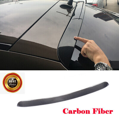 Carbon Fiber Rear Spoiler Wing Fit For Mercedes Benz GLE-Class GLE63 AMG 15-17