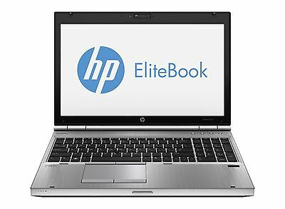 HP EliteBook 8570P Laptop Core i5 3rd Gen. 2.6GHz 500GB 8GB DVD RW Windows 7 COA
