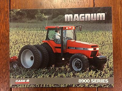 Case IH 8900-series Magnum tractor sales brochure from 1997