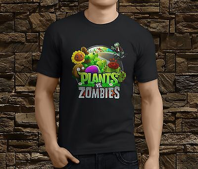 New Plants Vs Zombies Men's T-shirt Size S-3XL