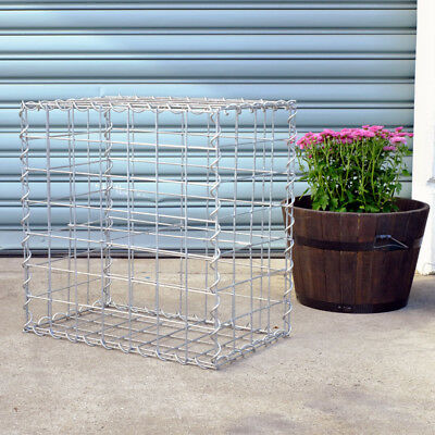 Welded Gabion 528mm L x 300mm W x 528mm H, 75x75mm, AL-TEN Garden Bench, Edge