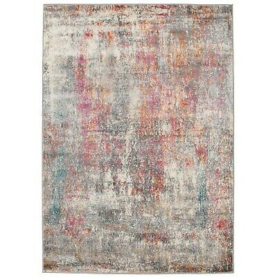 New Modern Floor Rug Soft Luxury Silky Transitional Colours Carpet Mat Decor