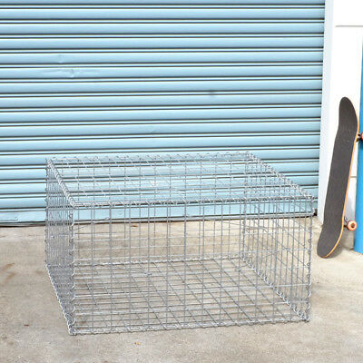 Welded Gabion 978mm L x 978mm W x 528mm H, 75x75mm, AL-TEN