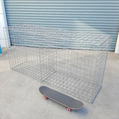 Welded Gabion 2028mm L x 528mm W x 978mm H, 75x75mm, AL-TEN