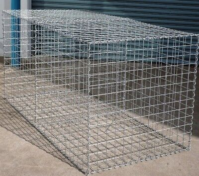 Welded Gabion 2028mm L x 978mm W x 978mm H, 75x75mm, AL-TEN