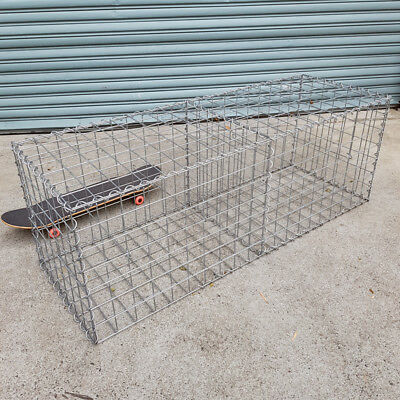 Welded Gabion Welded Gabion 1500mm L x 528mm W x 528mm H, 75x75mm, AL-TEN