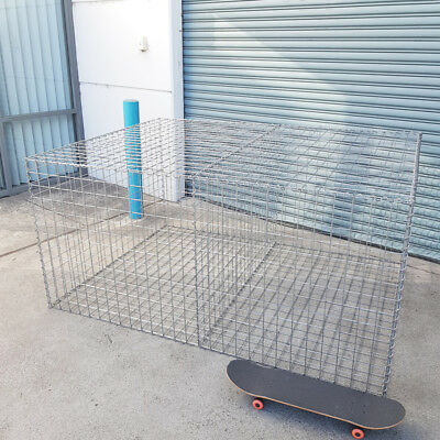 Welded Gabion 2028mm L x 1500mm W x 978mm H, 75x75mm, AL-TEN
