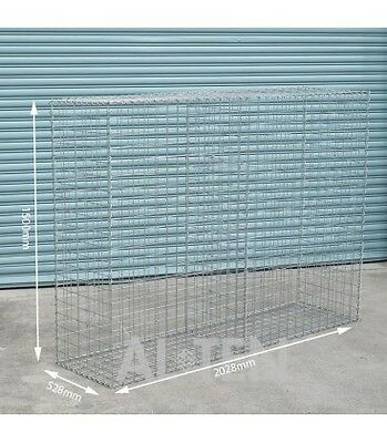 Welded Gabion 2028mm L x 528mm W x 1500mm H, 75x75mm, AL-TEN
