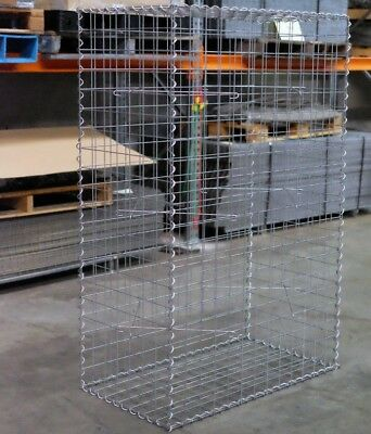 Welded Gabion 978mm L x 528mm W x 1500mm H, 75x75mm, AL-TEN