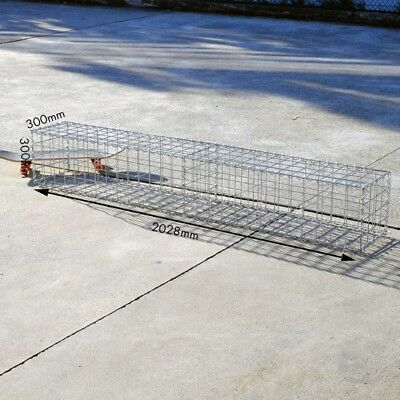 Welded Gabion 2028mm L x 300mm W x 300mm H, 75x75mm, AL-TEN