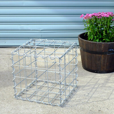 Welded Gabion 300mm L x 300mm W x 300mm H, 75x75mm, AL-TEN