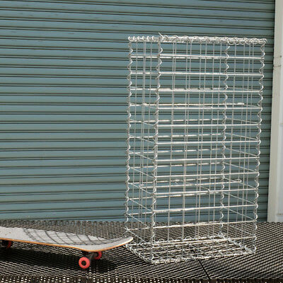 Welded Gabion 528mm L x 300mm W x 978mm H, 75x75mm, AL-TEN