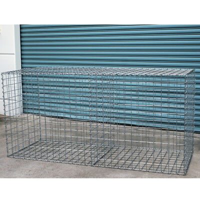 Welded Gabion 2028mm L x 750mm W x 978mm x H, 75x75mm, AL-TEN