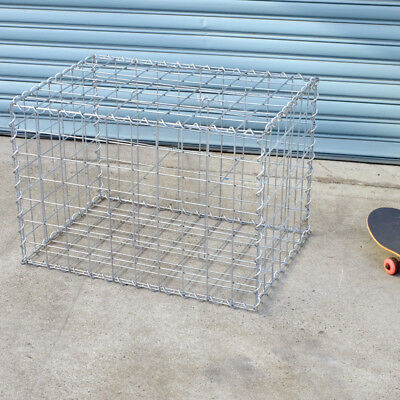 Welded Gabion 750mm L x 528mm W x 528mm H, 75x75mm, AL-TEN