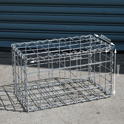 Welded Gabion 528mm L x 300mm W x 300mm H, 75x75mm, AL-TEN