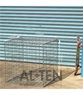 Welded Gabion 750mm L x 750mm W x 750mm H, 75x75mm, AL-TEN