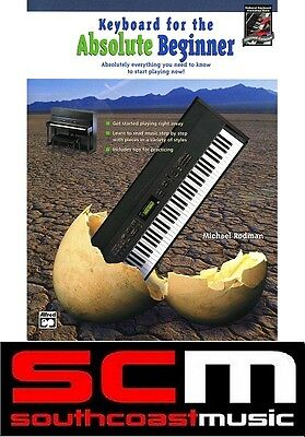 50% off* KEYBOARD FOR THE ABSOLUTE BEGINNER DVD LEARN TO PLAY TUITIONAL PIANO