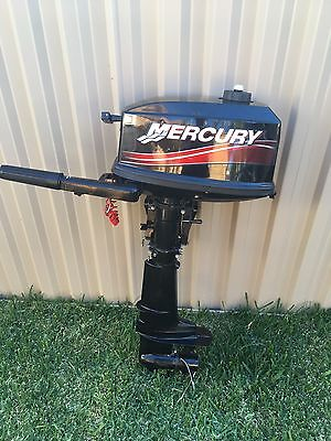 4hp Mercury Outboard Motor. Great Condition!