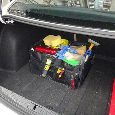 Trunk Organizer Cargo Auto SUV Car Truck Collapsible Foldable Box Storage Chest