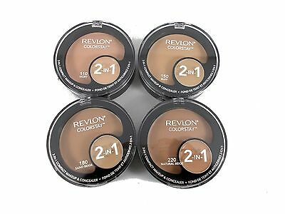REVLON colorstay colourstay 2-in-1 Compact Makeup Foundation & Concealer