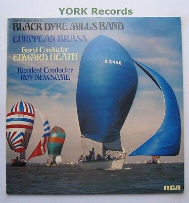 BLACK DYKE MILLS BAND - European Brass - Ex Con LP Record RCA Victor PL 25117
