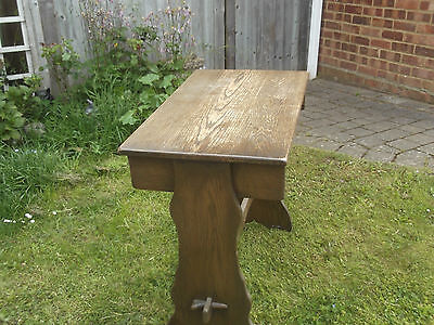 jacobean style hall table or computer table desk, antique look ideal shabby chic