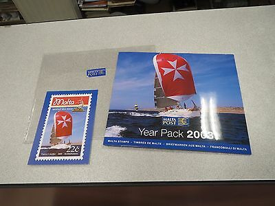 TIMBRE STAMPS YEAR PACK 2003 MALTA POSTA Mini Sheets and Souvenir Sheets NEUF *