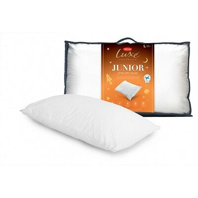Tontine Luxe Junior Kid's Polyester Pillow Low profile & Soft Feel RRP $34.95