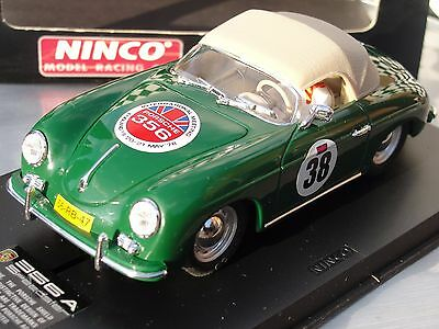 Ninco Porsche 356 A Speedster   Green   #38   50125  1:32 Scale  New Old Stock