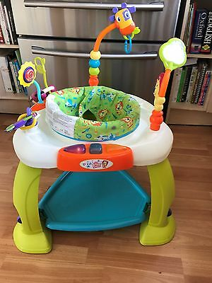 Bright Starts Bounce Baby Activity Centre Jumper Bouncer Jumperoo with extras
