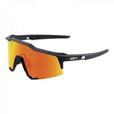 Occhiale ciclismo SPEEDCRAFT Ride100% (Soft tact black, Red mirros lens)