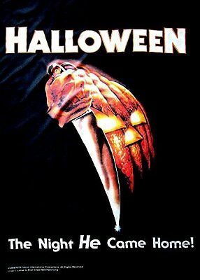 HALLOWEEN - CLASSIC MOVIE - FABRIC POSTER - 30x40 WALL HANGING - HFL0642