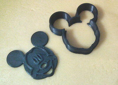 Mickey Mouse Galletas Cookie Molde Mold Toy Jugetes Cutter Cookies Fondant Cake