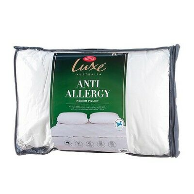 Tontine Luxe Anti Allergy High Profile & Firm Feel Pillow RRP $39.95