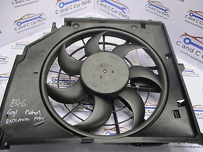 BMW E46 (98-06)  Electric  Radiator cooling Fan Petrol Engines 7510617
