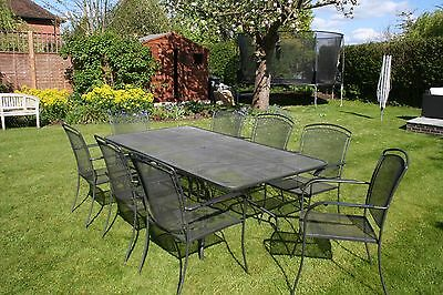 Kettler Royal Garden Outdoor Table and Eight Chairs