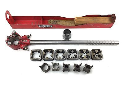 Vtg. Sears Craftsman Pipe Threading Set with 6 Dies Very Good Condition