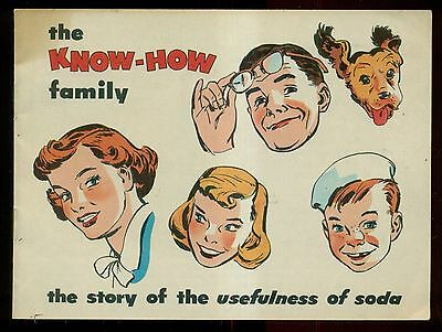 "1952 Church & Dwight Co. ""The Usefulness of Soda"" Comic Booklet"