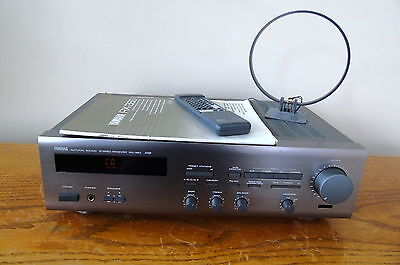Yamaha Rx-360 Stereo Receiver -- Remote -- Owners Manual -- Antenna --