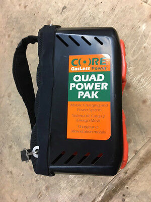 Core Quad Power Pack with 2 Batteries CQP 2