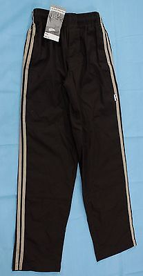 Chef Pants Sz XS Chef Works Striped Brown Cooking Restaurant Elastic Waistband